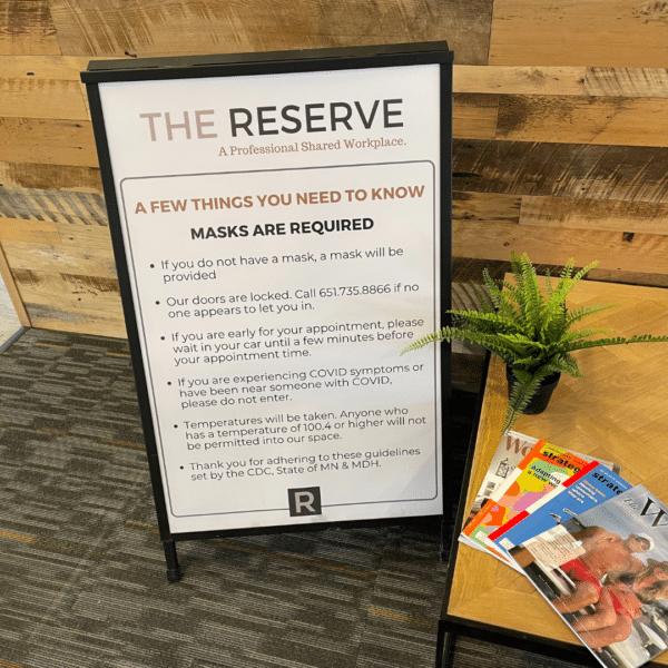 The Reserve Covid Procedures