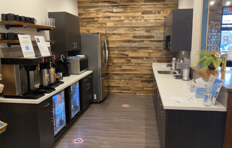 The Reserve Office Kitchen